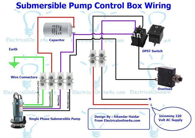 wiring diagram for 220 volt submersible pump - bookingritzcarlton.info |  submersible pump, electrical circuit diagram, submersible  pinterest