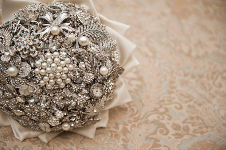Brooch Bouquet. Wedding photography Brisbane. Poison apple studios #wedding #brisbane # photography #brisbanephotographer