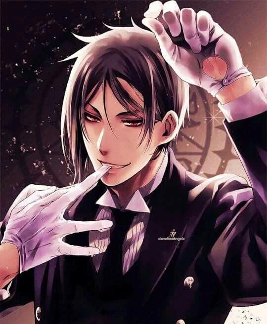 Sebastian Michael (Kuroshitsuji) << I think I just got pregnant from the pic