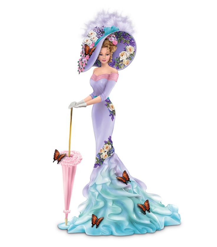 Elegant Lady in china ... (Part 1.)   Thomas Kinkade. Discussion on LiveInternet - Russian Service Online Diaries