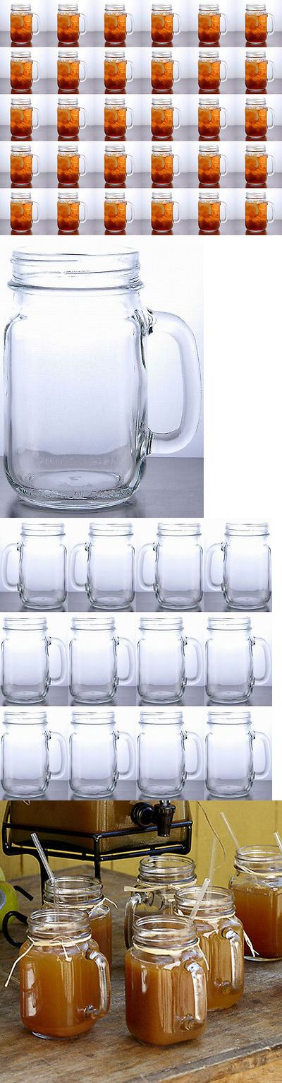Wedding Supplies 51018: Rustic Bridal Wedding Clear Mason Jars With Handles 2 1 2 Dozen Lot Of 30 Jars -> BUY IT NOW ONLY: $79.95 on eBay!
