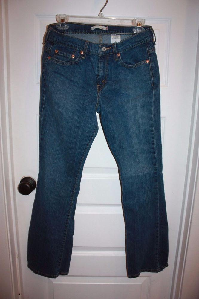 Women's Levi's 515 Boot Cut Jeans - Size 8M - EUC! #Levis #BootCut