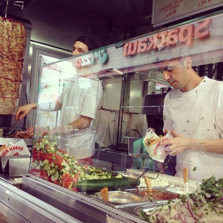 Mustafa's Gemüse Kebap in Berlin