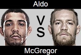 UFC 189 Jose Aldo vs Conor McGregor Prediction