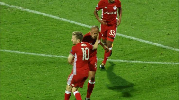 Rijeka 0-1 Olympiakos - Marko Marin scores winner