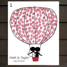 1 St Vingerafdruk Boom Bruiloft Gastenboek Vingerafdruk Canvas Schilderij Bruiloft Decoratie Bruiloft Benodigdheden Geschenken 9zza449-3(China (Mainland))