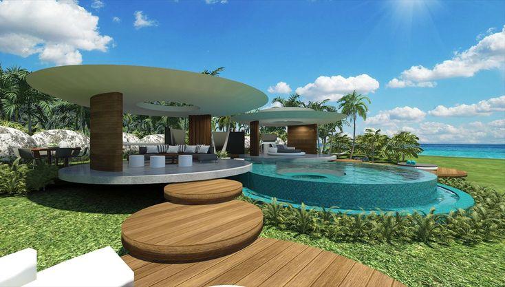 TAHITI VILLA | Chris Clout Design