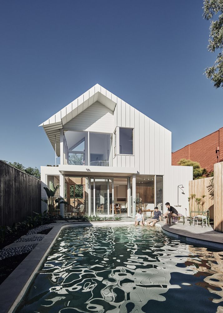 Gallery Of Lantern House Timmins Whyte Architects 6 In 2020 House Extension Design House Melbourne House