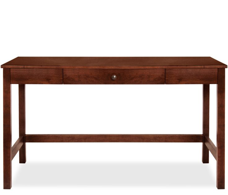 Addison Writing Desk - Cinnamon - The Addison home office is constructed of solid  cherry and select cherry veneers. Writing desk is stocked in a warm ...
