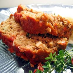 Rosemary Turkey Meatloaf. 362 calories, 9.8g of fat per ...