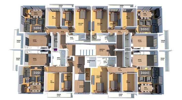 3d modelleme kat planı ev planları en iyi ev planları, müstakil ev planları, 3d kat planı çizimi modellemesi tasarımı villa projeleri