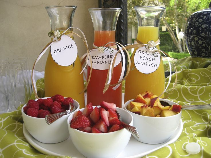 Image result for wedding brunch mimosas