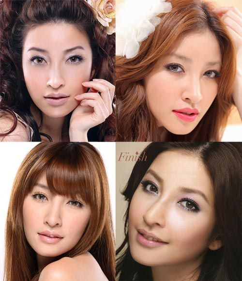 Taiwanese model Sharon Hsu 許維恩 makeup and beauty tips