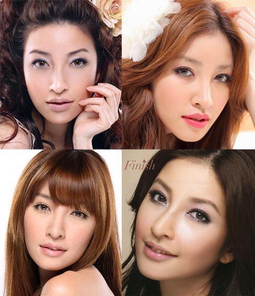 ♥ Asian Beauty. Asian makeup. Taiwanese model Sharon Hsu 許維恩 makeup and beauty tips