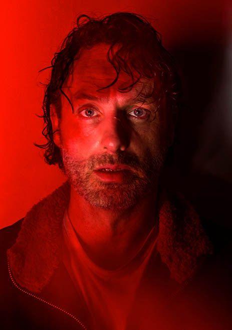 Rick Grimes  (Andrew Lincoln) The Walking Dead Season 7 Cast Portraits | AMC