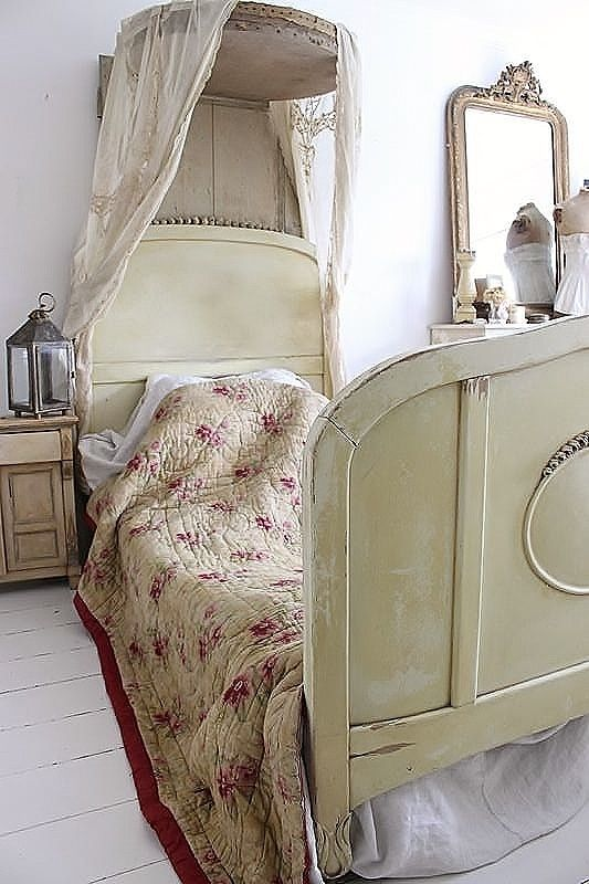 old French bed / frans bed