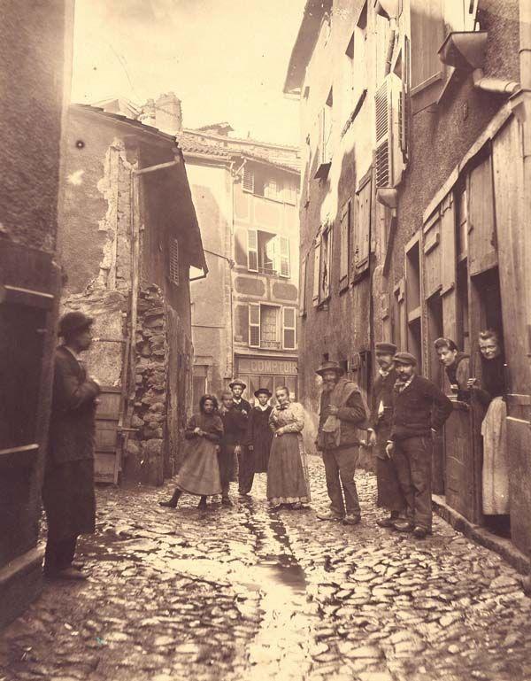 Rue De La Ch U00e2dre  Quartier Viraclaud  Limoges  Vers 1896