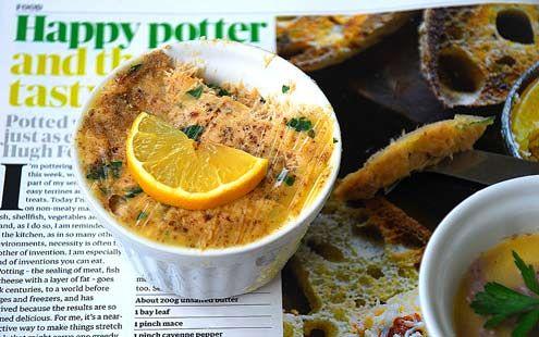 Potted mackerel