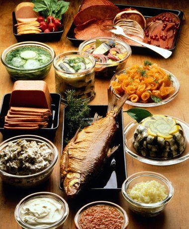 National Dishes from Finland.  (c) VisitFinland.com