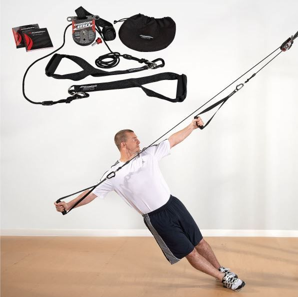 CrossCore 180 - A rotational bodyweight training system.