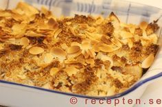Äppelpaj LCHF - Recept på äppelpaj LCHF. Gott och enkelt med få kolhydrater - utan socker och vetemjöl. Bilder steg för steg.