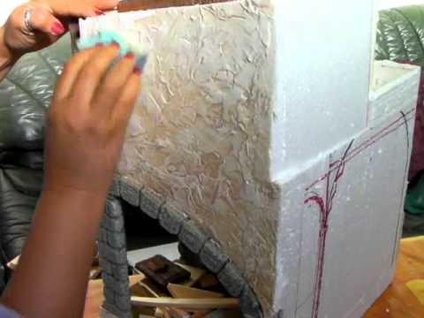 pintando paredes, efectos de pintado en paredes, pintar con esponja,
