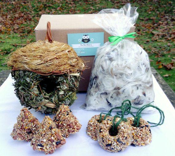 Garden Bird Survival Kit Gift for Men Dad Gift by TheBirdBakery