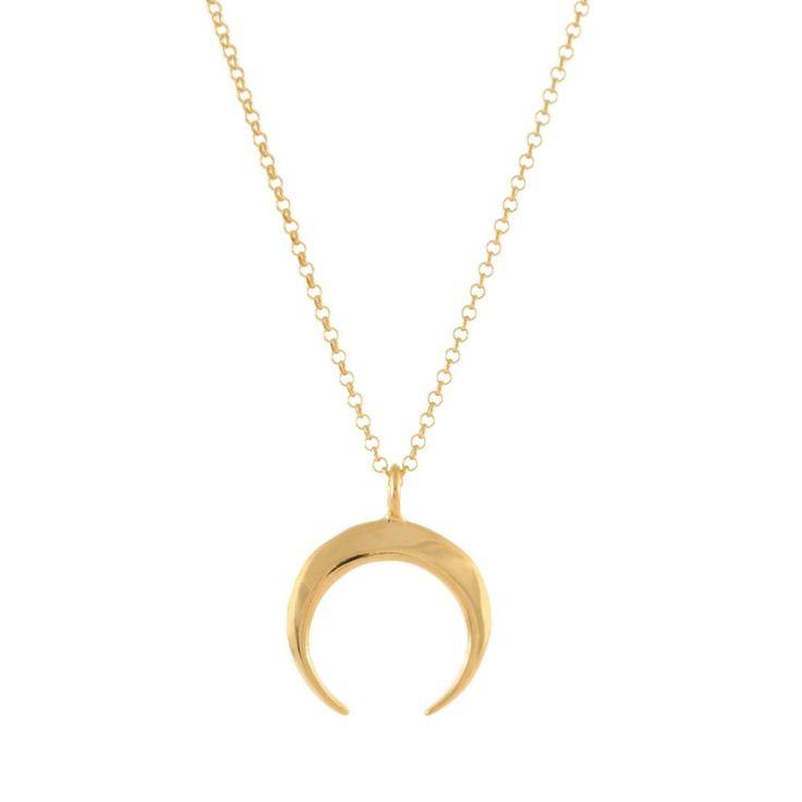 MARRAKECH Mond Kette Gold | MOANINA