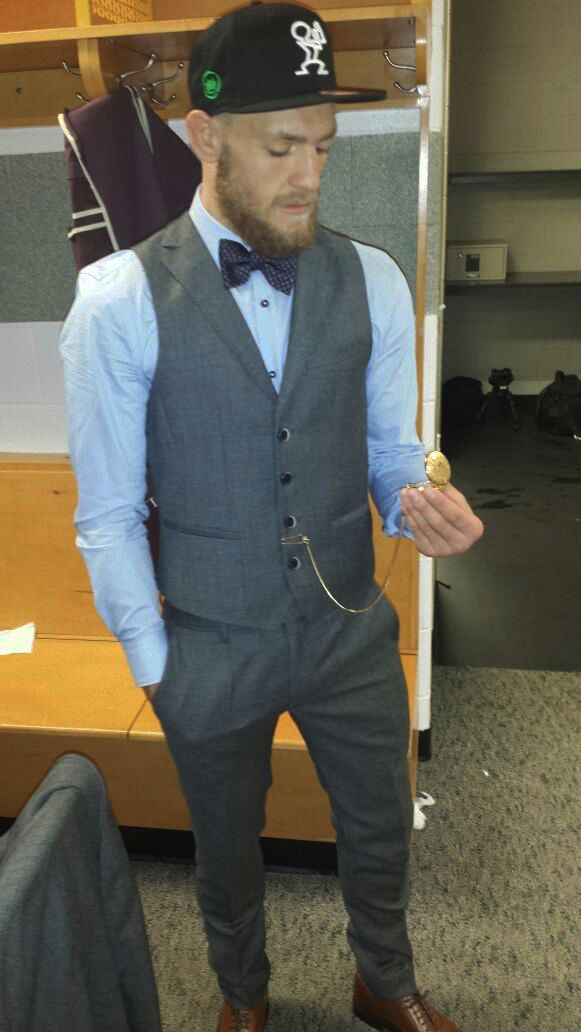 conor mcgregor style - the barbaric gentlemen