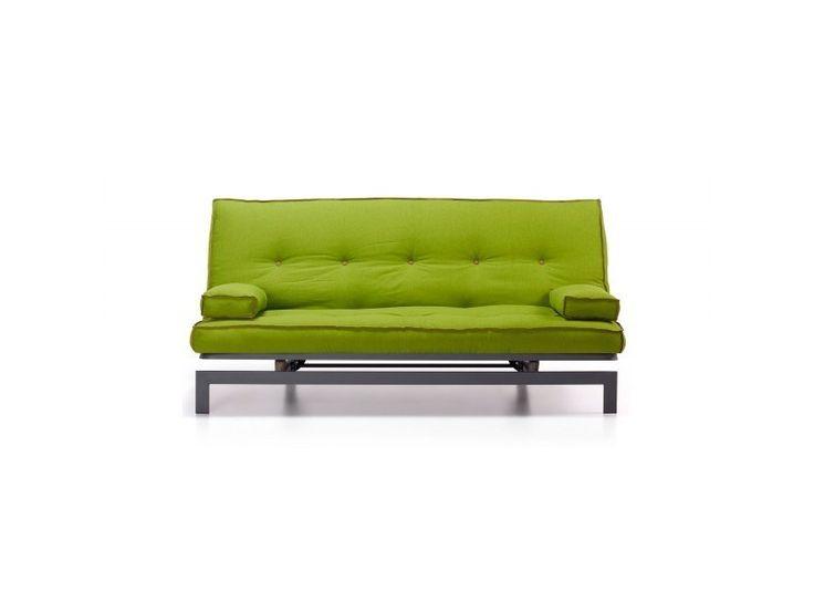 Sof cama modelo twist tapizado en color verde pistacho - Sofa verde pistacho ...