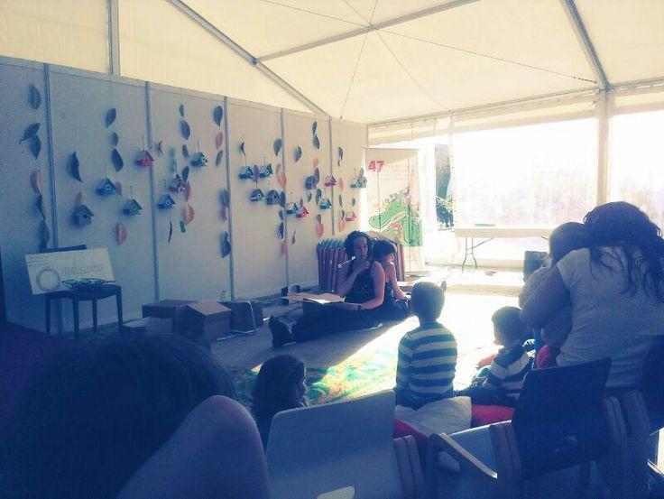 Feria del Libro de Valladolid en la Carpita de la Feria (Valladolid) 4/05/2014