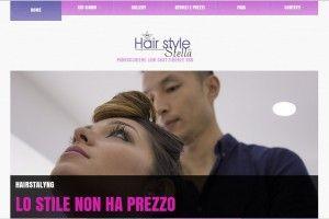 Stella Parrucchiere  www.stellaparrucchiere.it Realizzazione siti web professionali, progetti e-commerce, web marketing e gestione social