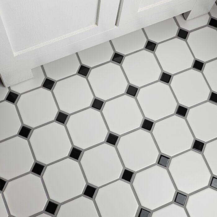 retro porcelain mosaic tile in matte
