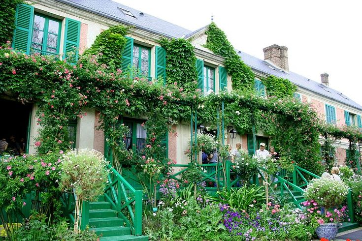 Claude Monet's house at Giverny--went there on honeymoon!: Home And Gardens, Monet House, Favorite Places, Claude Monet, Crui, France, Historical Home, Travel Guide, Normandy Beaches