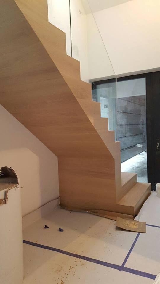 Tak wygląda praca nad schodami Scheucher Parkett :)