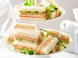 The 25 best recipes ribbon sandwiches ideas on pinterest smoked salmon cucumber ribbon sandwiches recipe new idea magazine yahoo7 lifestyle forumfinder Images
