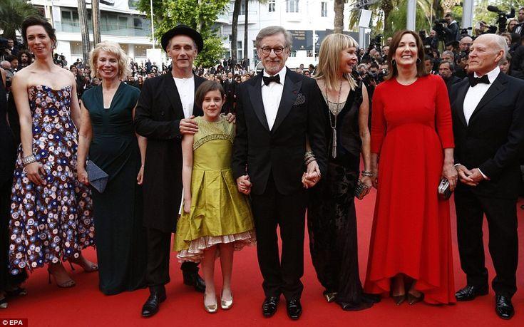 Line-up: British actress Rebecca Hall, Claire van Kampen, British actor Mark Rylance, US a...