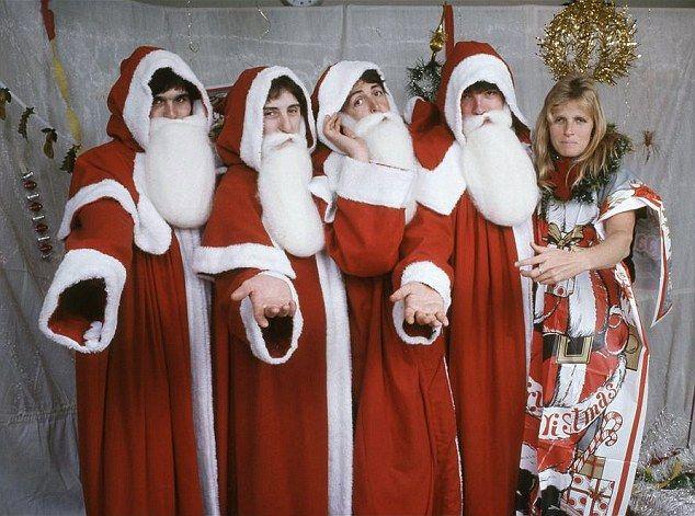 Merry Christmas: McCartney shared a festive flashback of The Beatles and Linda