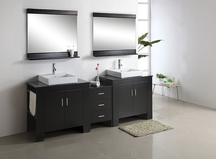 Photo Album Gallery Tavian Double Bathroom Vanity MD by Virtu USA