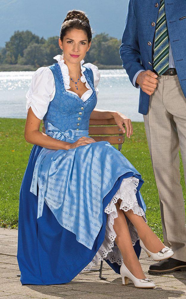 Chiemseer Dirndl & Tracht Online Shop-Blusendirndl Obersee, ohne Schürze
