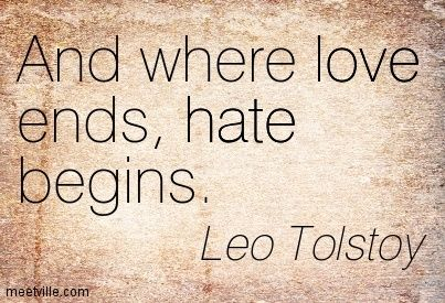 Leo Tolstoy love-life-hate-truth
