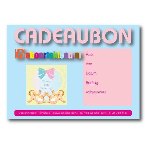 Een van de vele #cadeaubonnen | one of the many #gift cards. #giftcards