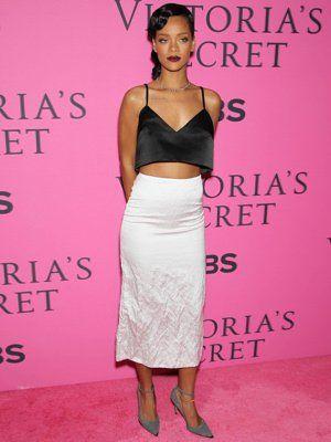 rihanna avant le show victoria's secret à new york, le 7 novembre 2012