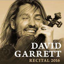 David Garrett Tour 2016 | David Garrett - Recital 2016 in München - Tickets & Karten - Tour