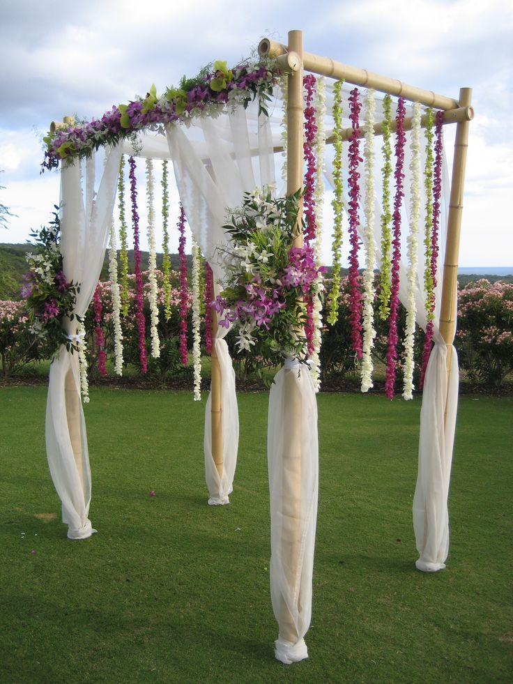 Déco mariage en bambou design intérieur