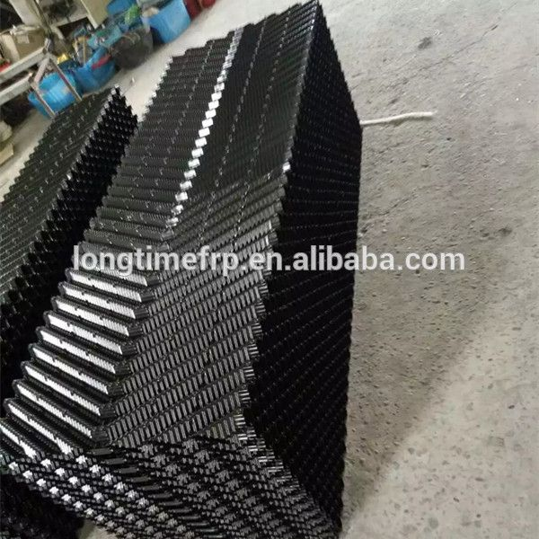 300mm 1200mm Cooling Tower Fill Cooling Tower Pvc Plastic Sheet