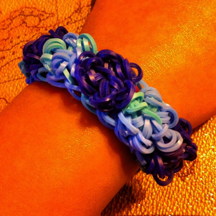 how to make a rubber band cross without loom