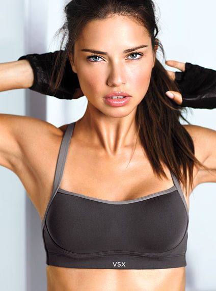 My favorite pole bras! These Ds stay put! Victoria's Secret Angel Sport Bra #activewear
