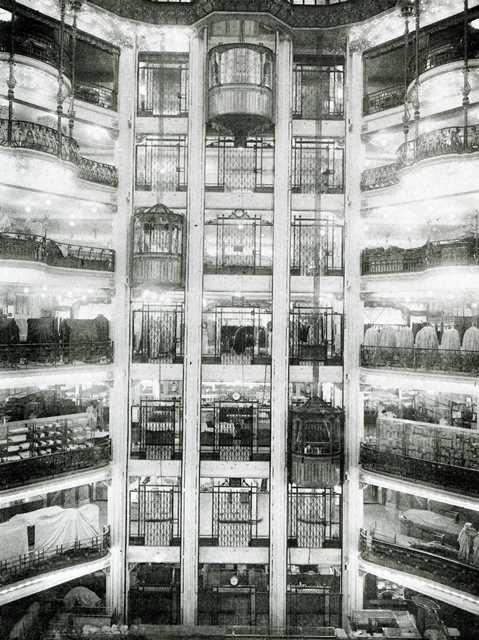 17 best images about elevator escalator on pinterest antiques hong k - Meubles printemps haussmann ...