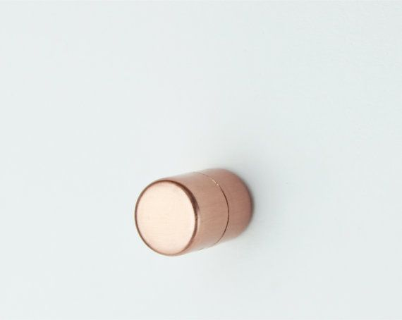 Modern Proper Copper Knob. Contemporary par ProperCopperDesign